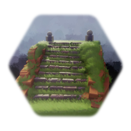 Rock Staircase Asset
