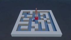 Basic motion-controlled marble maze proof-of-concept