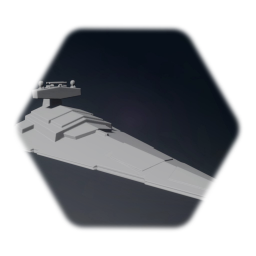 Star Wars - Imperial Star Destroyer (basic model) (remixable)
