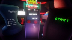 MOVESHOOTER - Arcade Hub Cabinet (PS Move Lightgun Game)
