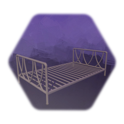 Bed - bedstead without anything