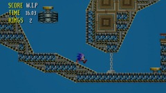 Sonic chase : 2D casino and air ship Levels version 2.5 new act