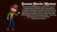 Dreams Murder Mystery Sign Up (CLOSED)