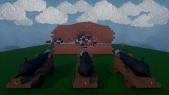 Working Pirate Ship Cannon Demo