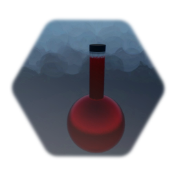 Potion Reaction Flask Red
