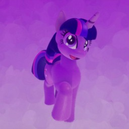 Twilight Sparkle from.(My little pony)