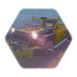 Twisted Metal Vehicle - Example Template