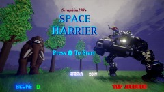 Space Harrier Remake - Full Arcade Game!