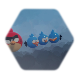 Red and Blues (Angry Birds Toon)