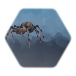 Giant Spider Enemy [Stationary Shooter]