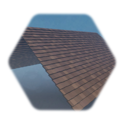 Simple Tiled  Roof Panel