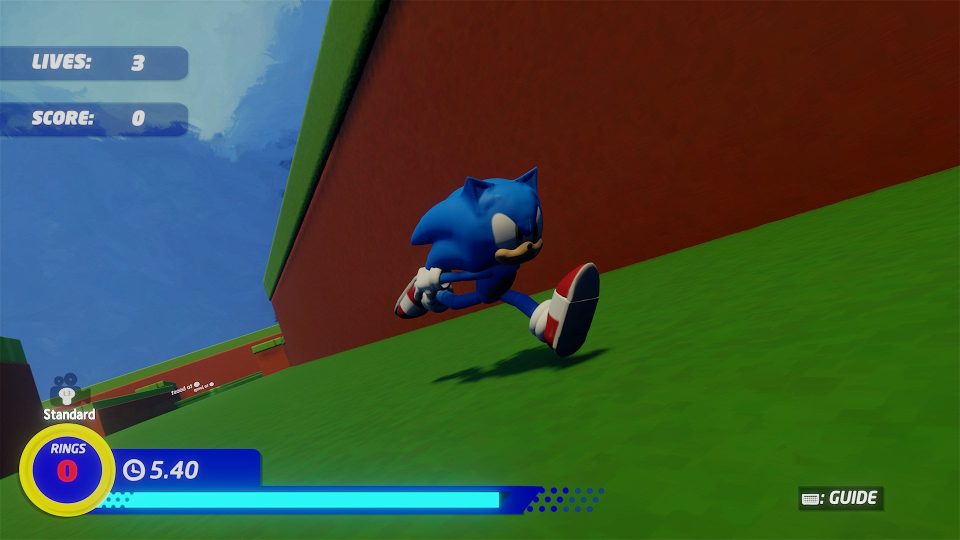 A Photo Of Sonic The Hedgehog 2020 The Game Demo Indreams Me