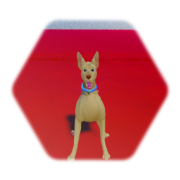 Realistic Dog with Animation