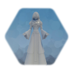 Statue of Lady in White