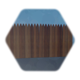 wheathered wooden fence
