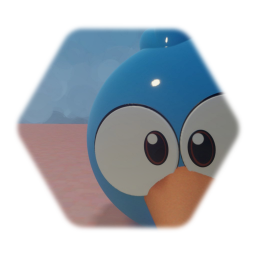 Blue from angry birds