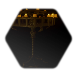 Medieval Candlestand