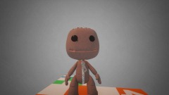 A Sackboy Puppet Test Level