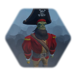 Zombie Pirate Captain - Le you know who