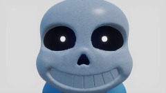 HEY! WHATS GOING ON HERE?! But its Sans