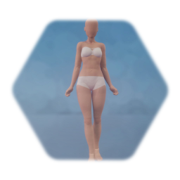 Seamless Realistic Female Base