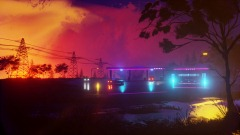 Neon Pit Stop