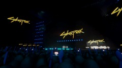 Keanu Reeves Cyberpunk E3 Crowd Simulator - You're Breathtaking
