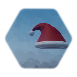 christmas hat - nothing special, but plushy and ok