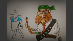 """""""Pirate Painting"""" DHM 30 Minute Challenge"""