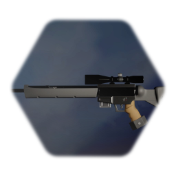 PSG-1 Sniper rifle