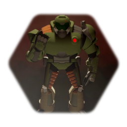 Cartoon Doom Slayer V.1