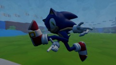 Sonic Escaping The Corona