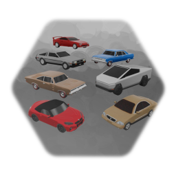 Community Car Pack #1 (WIP) 7/11