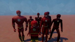 The flash Multiverse