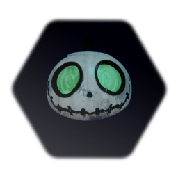 The nightmare before Christmas - All Hallows' Dreams Pumpkin!