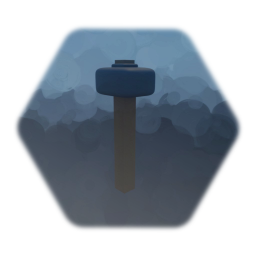 Low Poly Sledgehammer