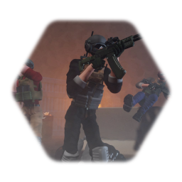 Character Model (PMC Operators)