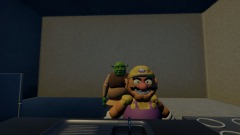 Wario & Shrek Humburger DIY
