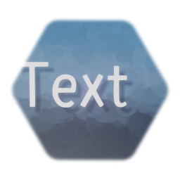 Floating text