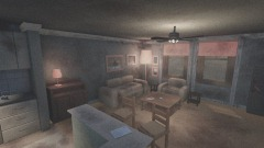 Haunted version of  Silent Hill 4. Henrys apartment