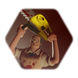 Cartoon Leatherface