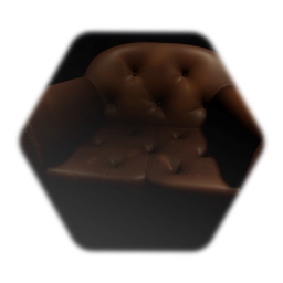 Lightly Worn Leather Couch
