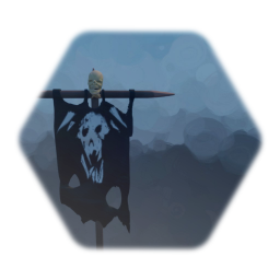 Remix of Orc banner (with Skull)