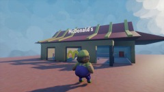 Wario Goes To McDonald's (updated)