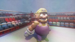 Wario in a boxing match (updated)