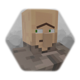 Minecraft Villager but he moves more
