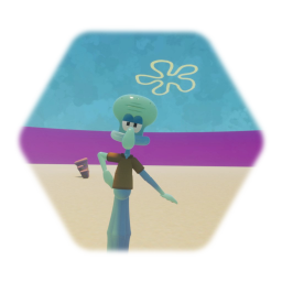Better animated squidward tentacles