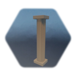 Column with Pedestal and Capital