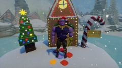 Thanos does a Christmas