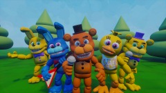 FNAF World Early Test